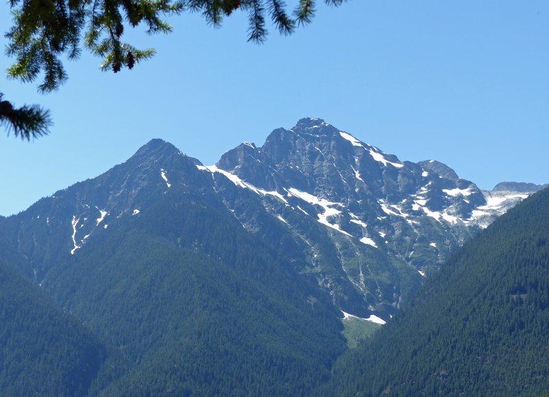 Mountain view, Diablo Lake overlook, N Cascades NP