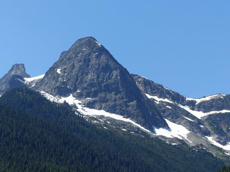 Colonial Peak from the Diablo Lake overlook, N Cascades NP