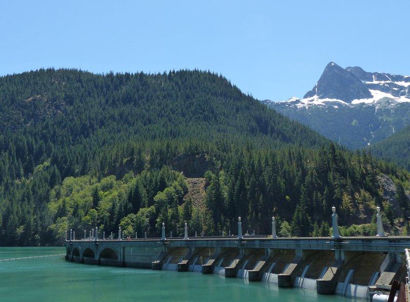 Diablo Lake dam, N Cascades NP