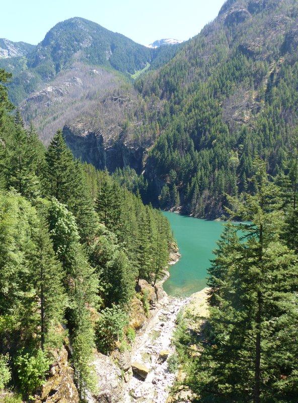 Gorge Lake, N Cascades NP