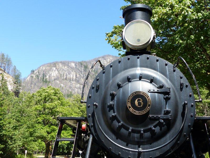 Old locomotive, Newhalem