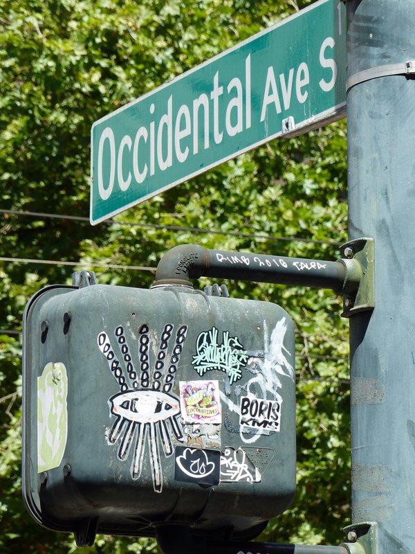 Near Pioneer Square, Seattle
