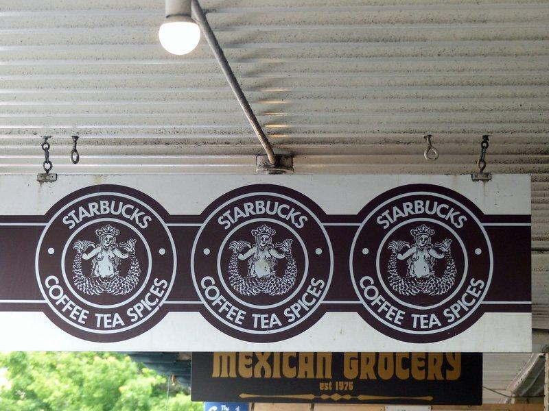 Original Starbucks' signs, Pike Place Market