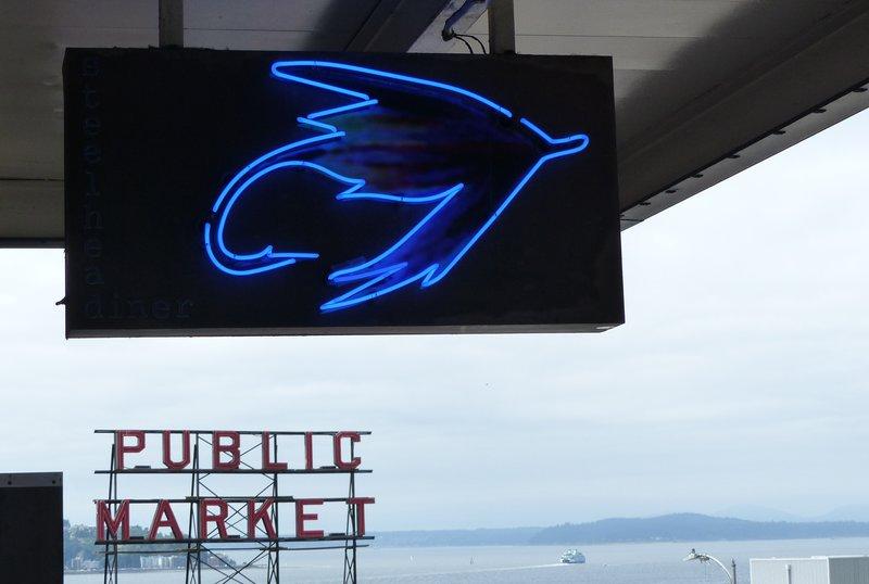 Steelhead Diner sign