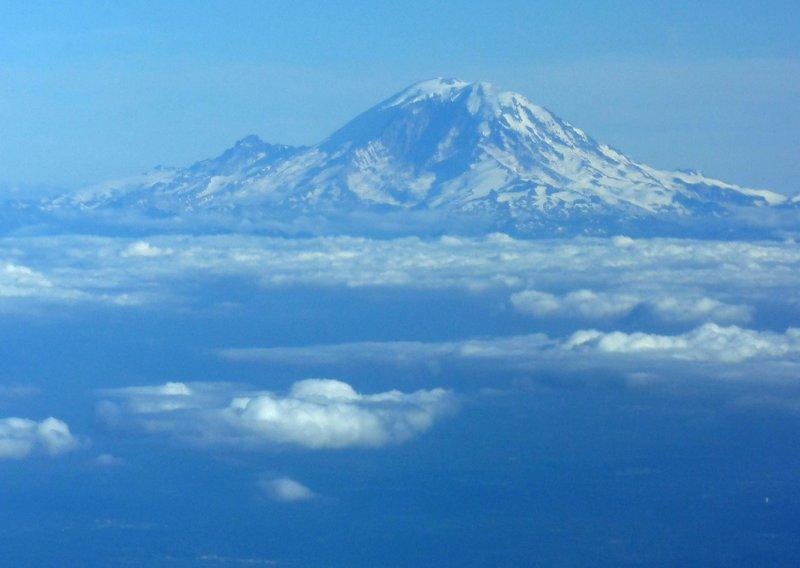 Last view of Mount Rainier