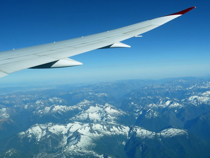 Over the North Cascades