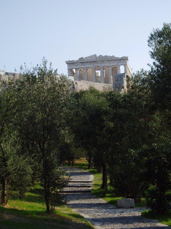 The Acropolis and Parthenon