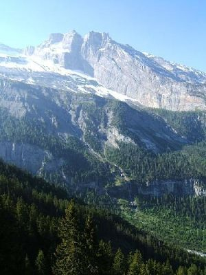 View on the way up - Kandersteg