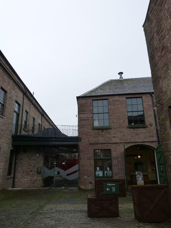 Verdant Works - courtyard