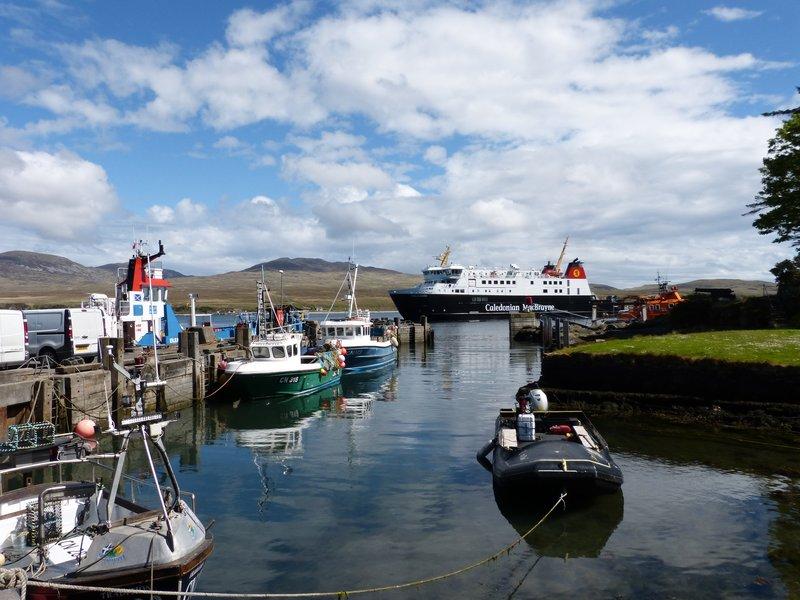 MV Finlaggan at Port Askaig