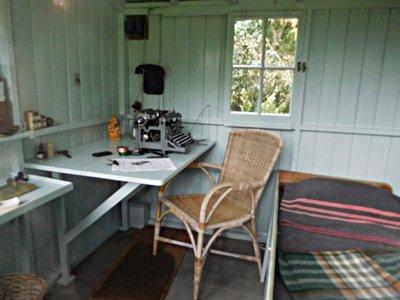 Shaws Corner: Shaw's garden shed