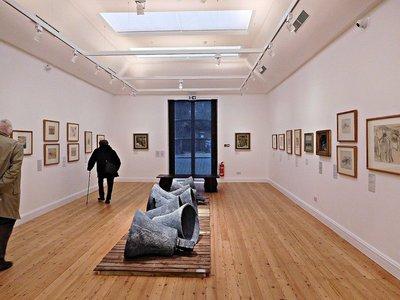 ESTORICK: a downstairs gallery