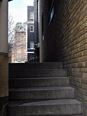 Curzon Square stairs