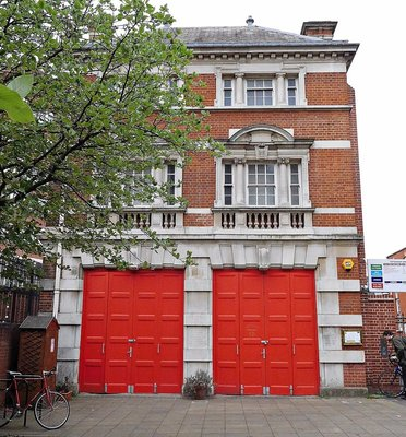 Former Tottenham Green Fire Station