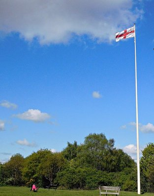 Hampstead Heath flagpole