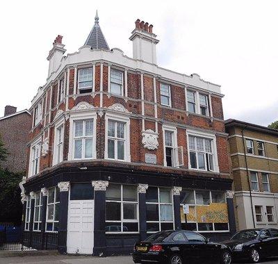 Former Latimer Arms pub