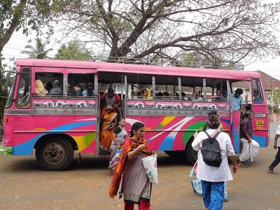 Bus to Ernakulam at Vypin Bus Stand