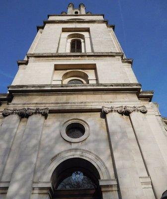 St George in the East: Hawksmoor's tower