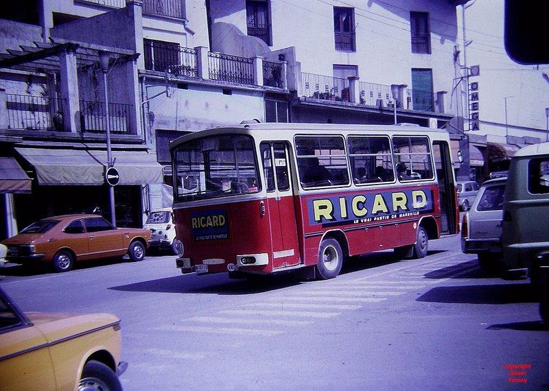 ANDORRA 1972 Bus