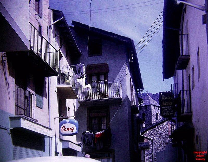 ANDORRA 1972 back street