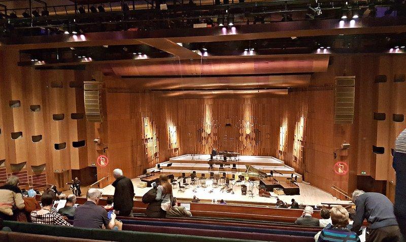 Barbican Barbican Hall: inside the auditorium