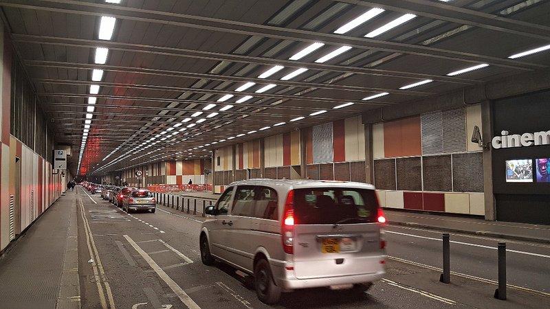 Barbican:  tunnel