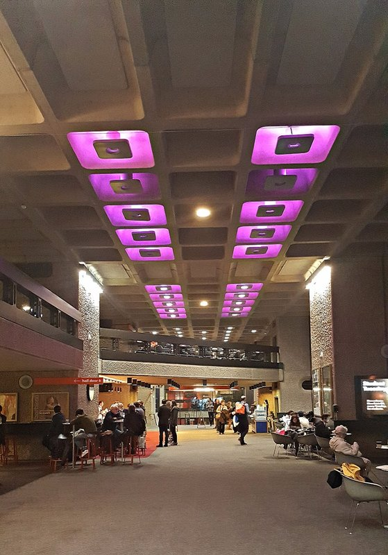 Barbican: a  foyer or lobby
