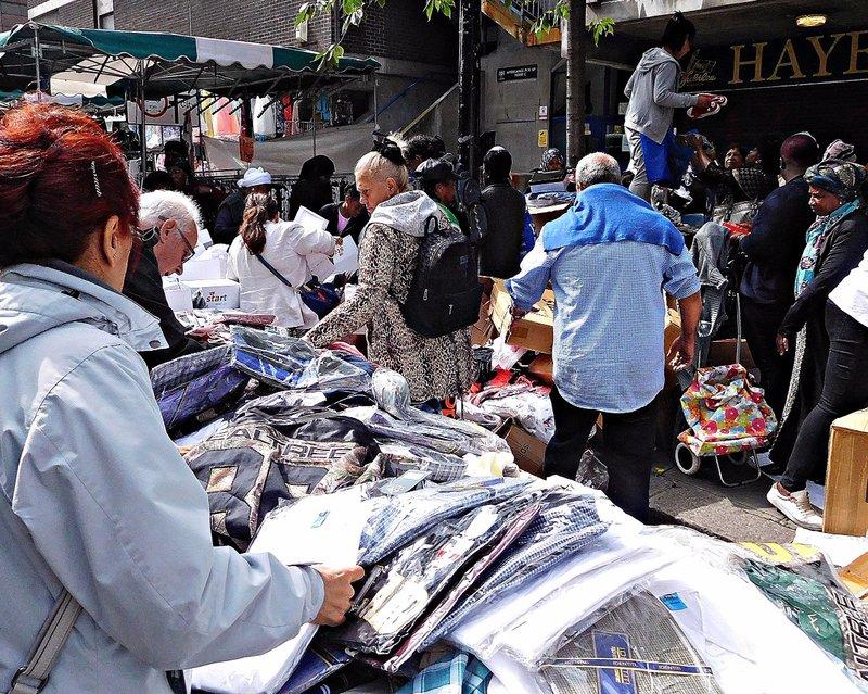 BRICK 0aiv Middlesex Street Petticoat Lane Market