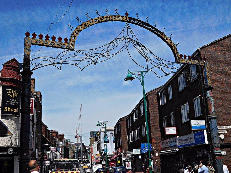 Brick Lane arch