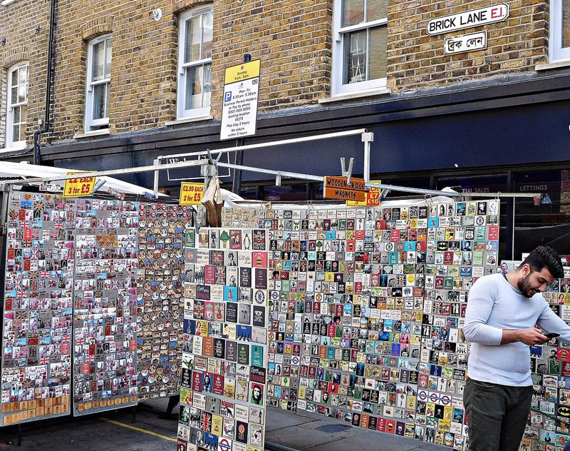 Sunday at Brick Lane