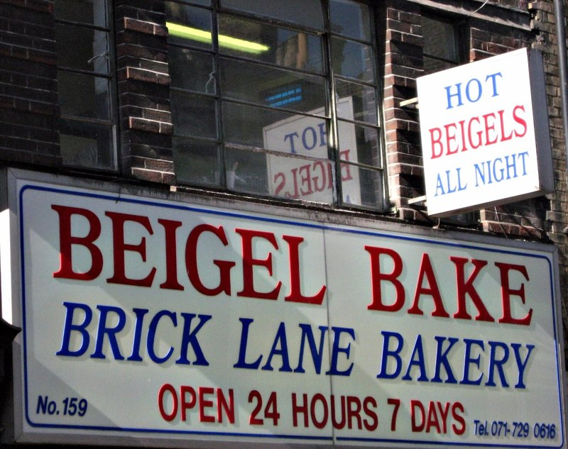 Beigel bakery Brick Lane