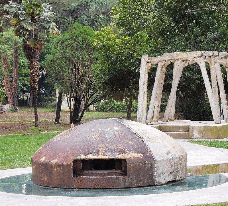 Post-Blok Memorial in  Tirana 2016