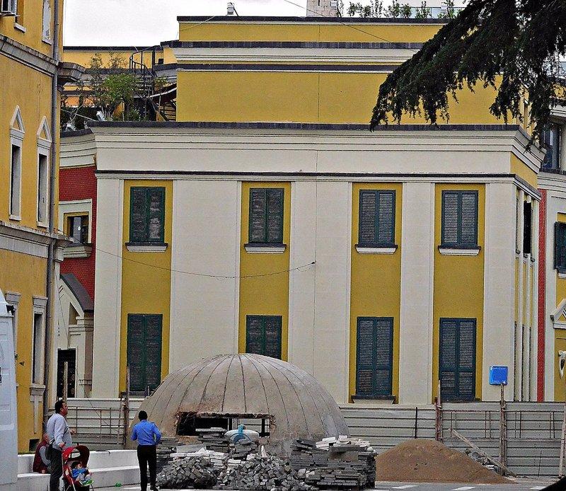 Tirana Newly-built  bunker. 2016