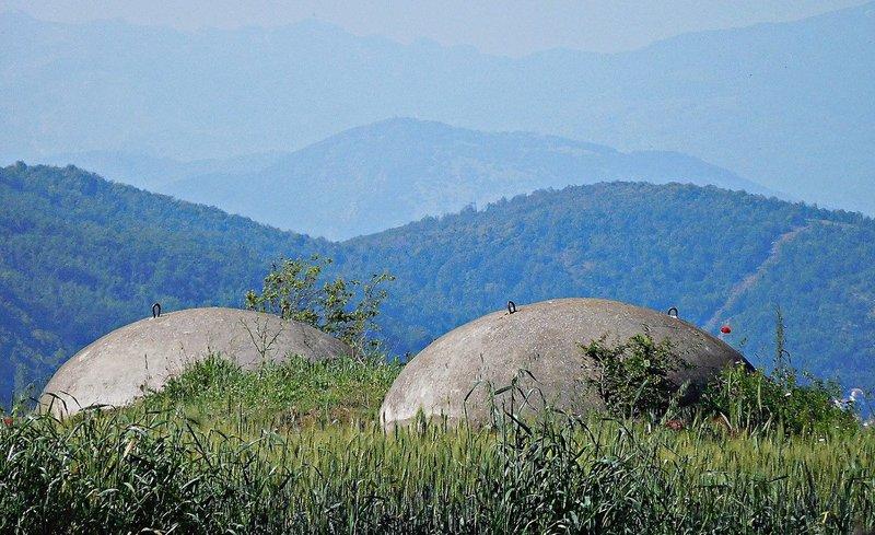 Near Lin, overlooking former Yugoslavia. 2016