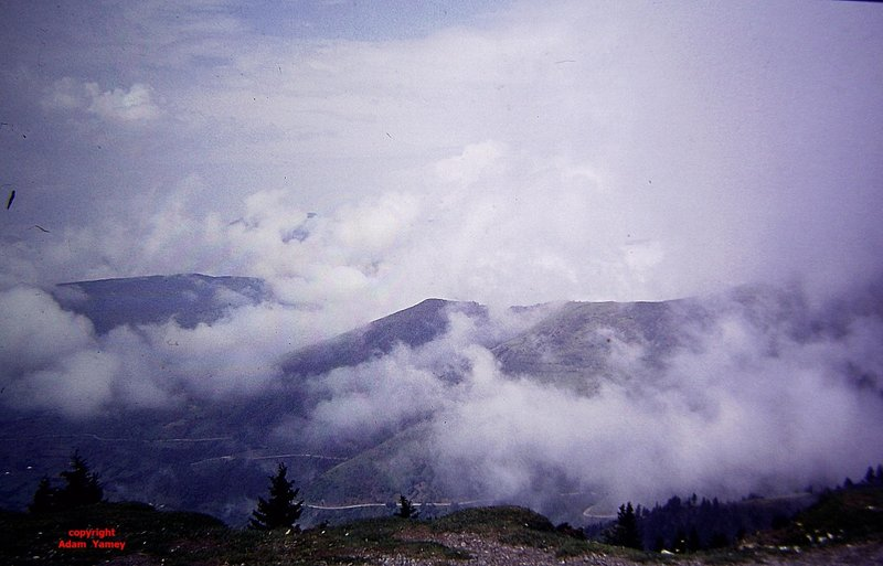 CAKOR PASS 1975 View from the top
