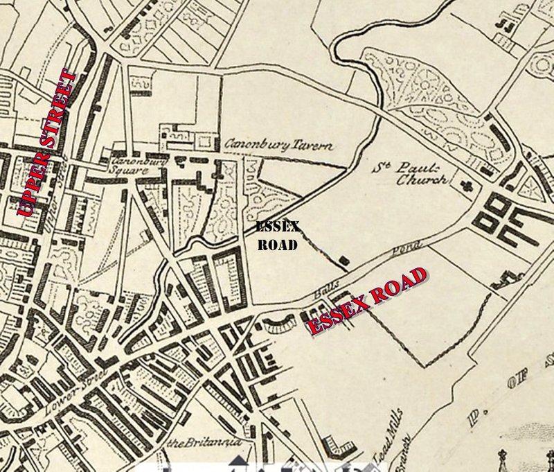 CANONBURY in 1850
