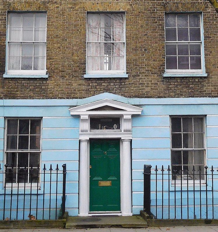 Canonbury: a door