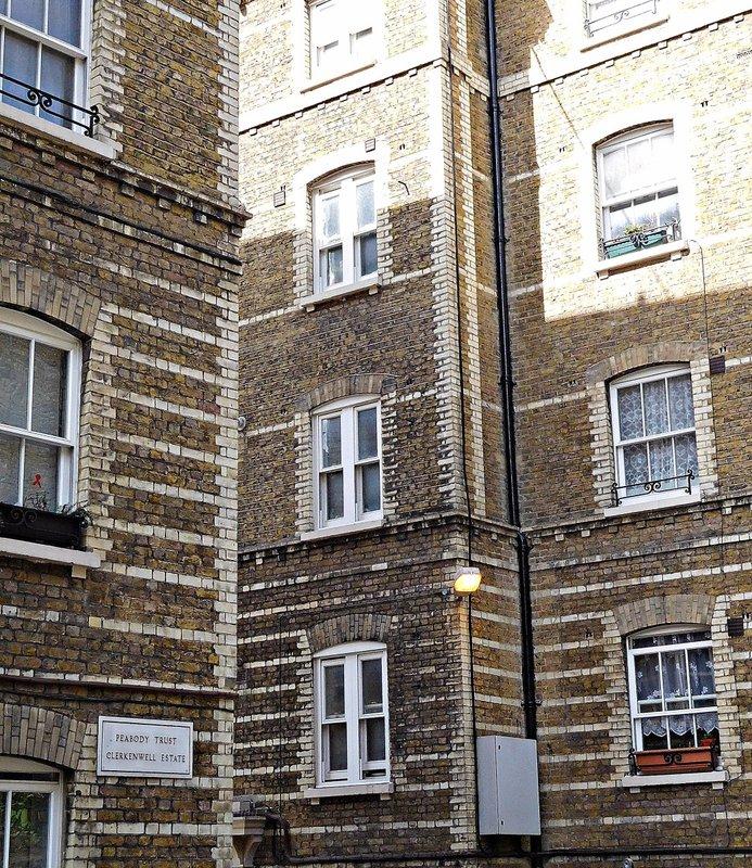 Clerkenwell Close Peabody Trust buildings