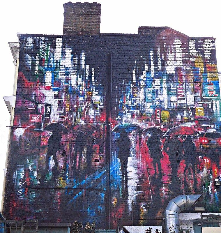 Goswell Road graffiti