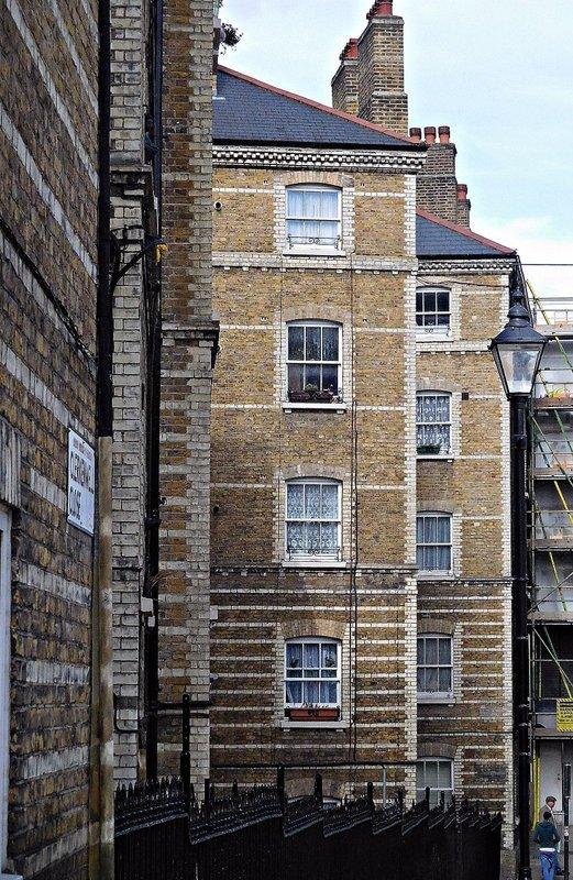 Clerkenwell Close Peabody Buildings