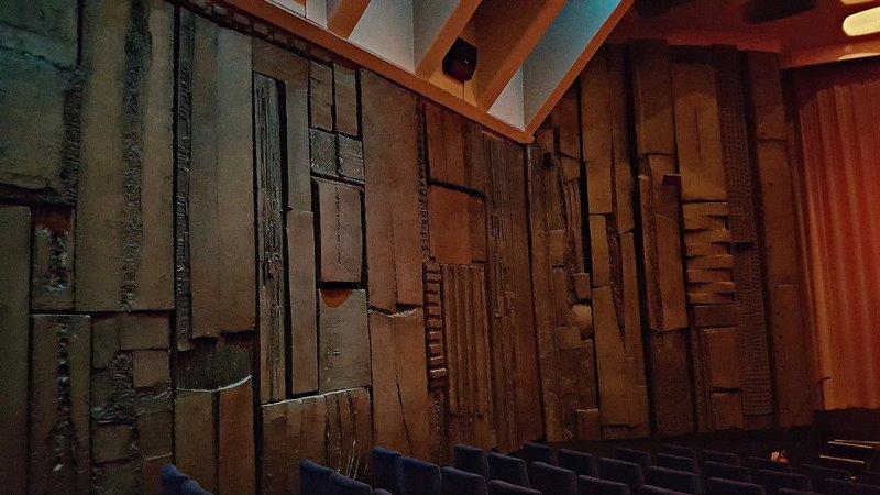 CURZ 2 Curzon cinema auditorium mural