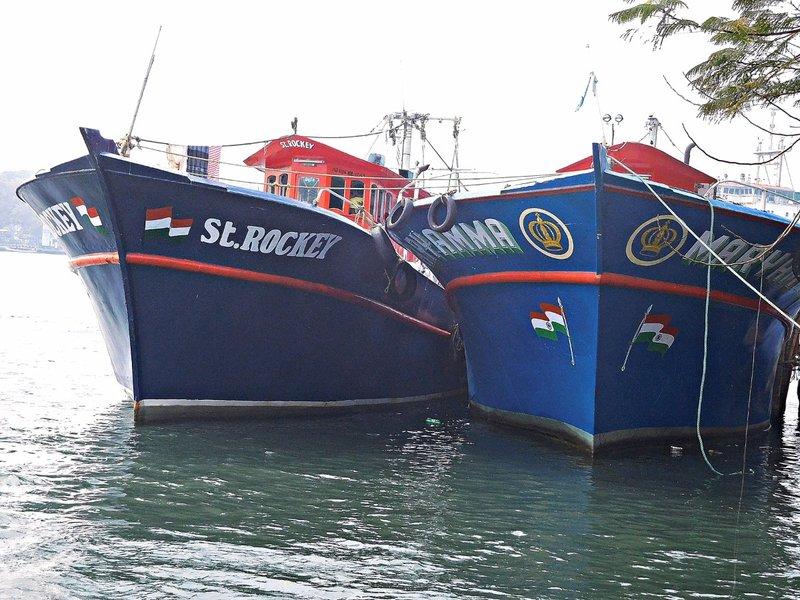 Boats at Vypin