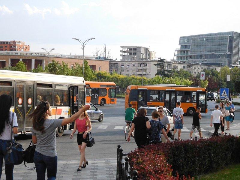 TIRANA 2016: no shortage of traffic!