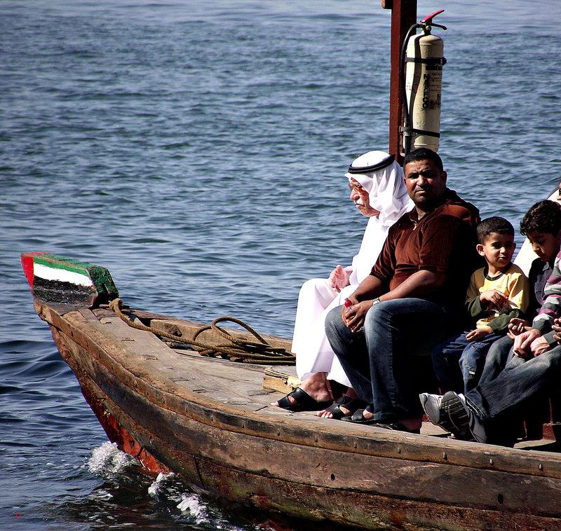 Dubai: life on the Creek