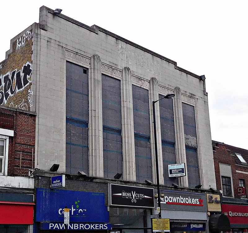 Former Burtons shop