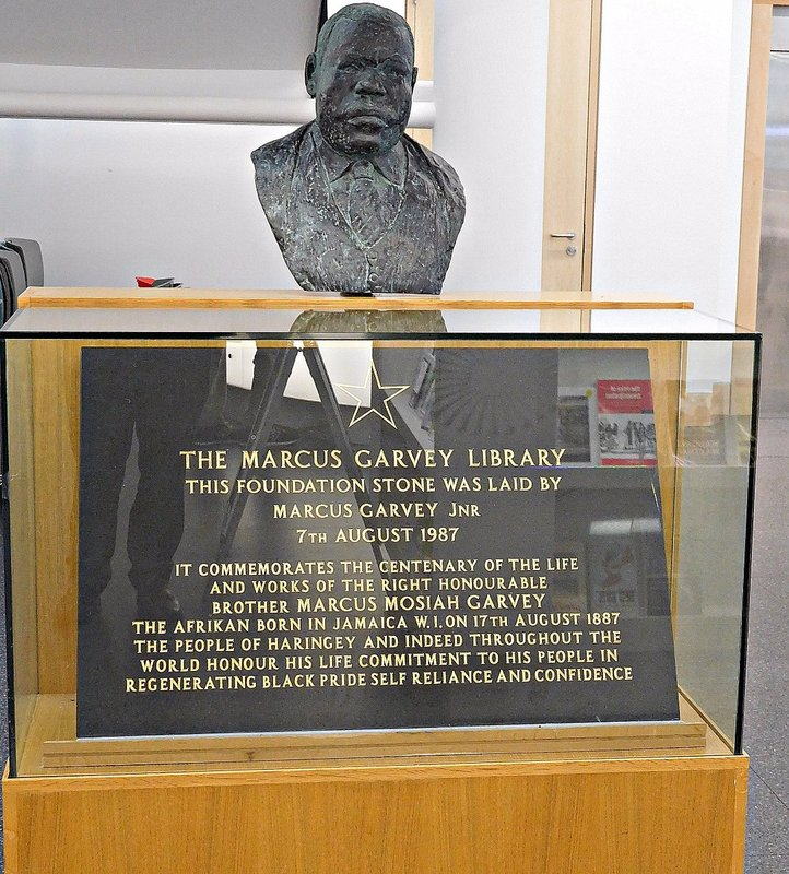 Bust of Marcus Garvey
