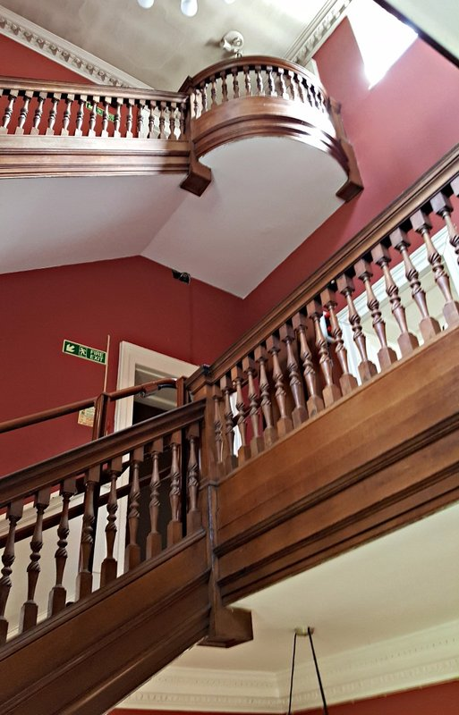 Bruce Castle: staircase