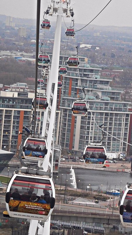 Emirates  London cable cars