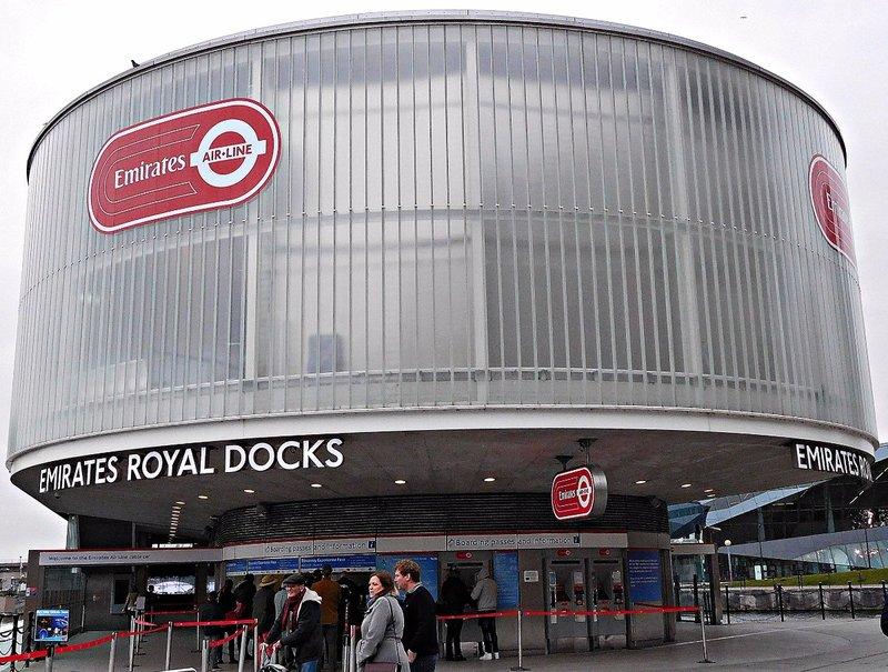 Emirates  London Cable Car: Royal Victoria Docks Terminal