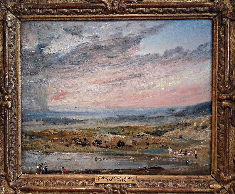 Kenwood: John Constable - view of Hampstead Heath
